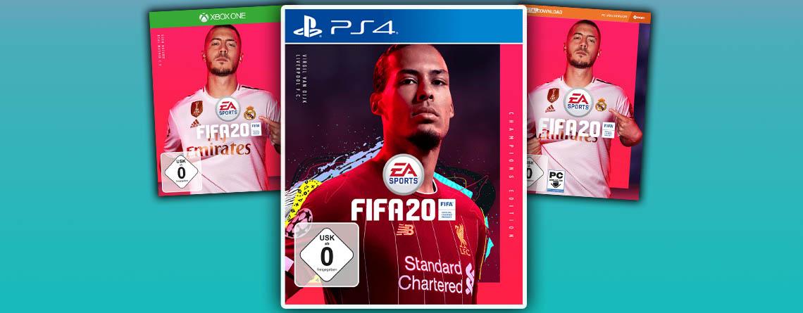 FIFA 20 kaufen: Bei MediaMarkt könnt ihr alle Editionen vorbestellen