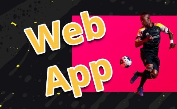 fifa 20 web app start