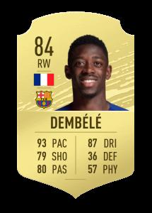 FIFA 20 Dembele