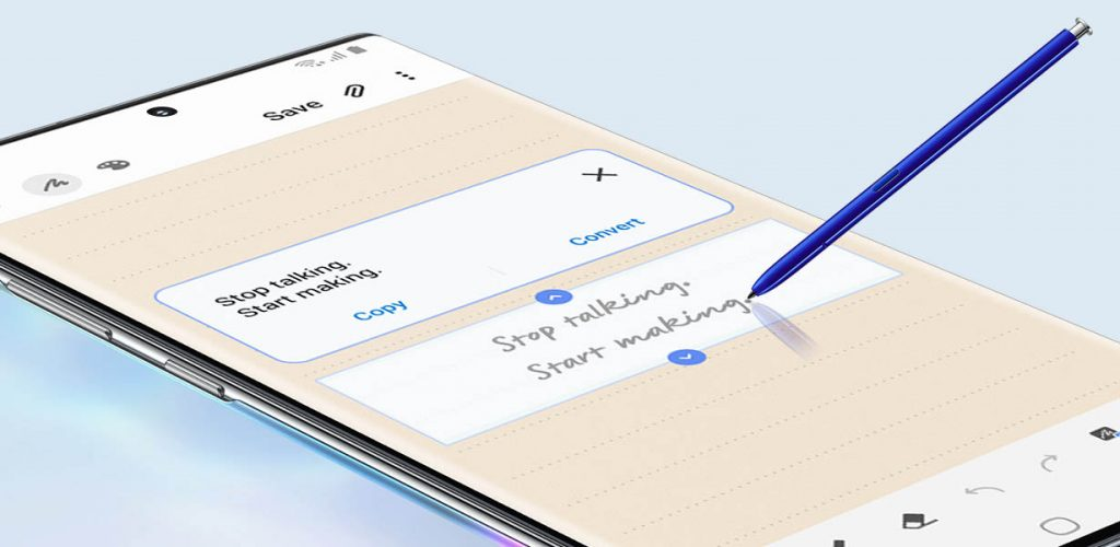 Der S Pen macht Notizen deutlich einfacher.
