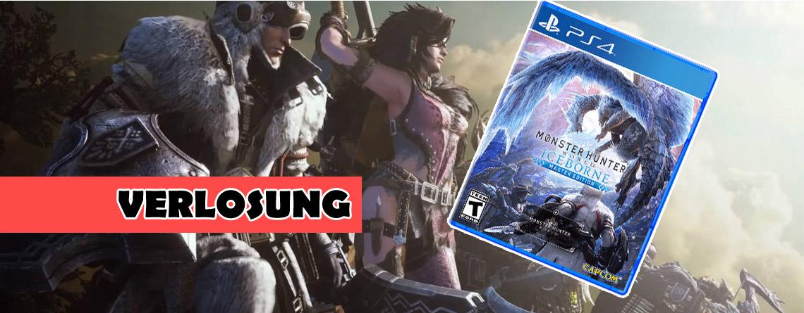 Gewinnt die schicke Master Edition von Monster Hunter World: Iceborne für PS4