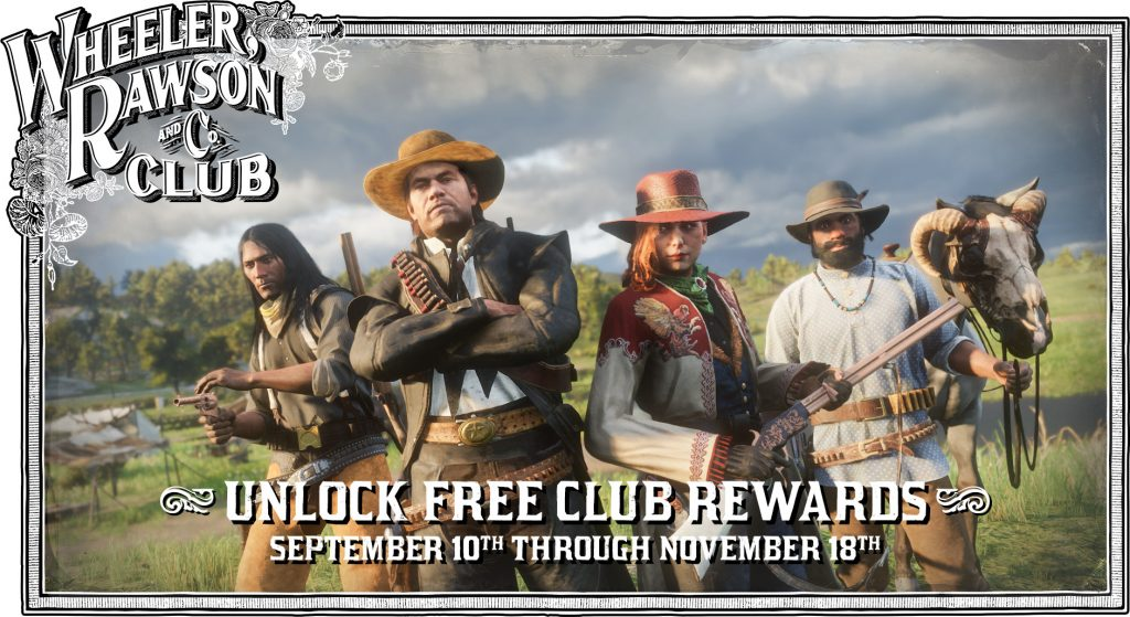 Red Dead Online Wheeler, Rawson & Co. Club Battle Pass