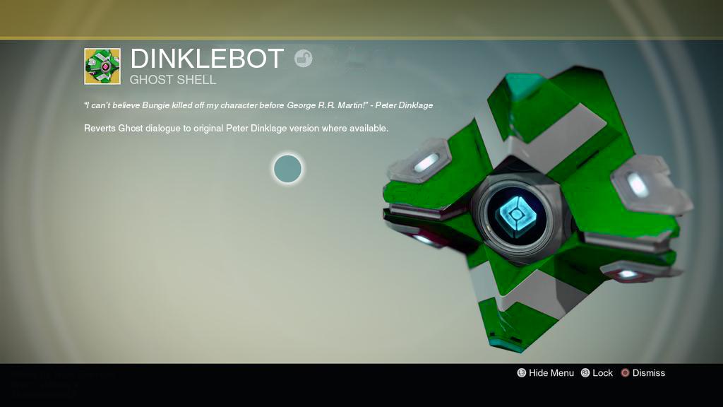 destiny 1 dinklebot shell