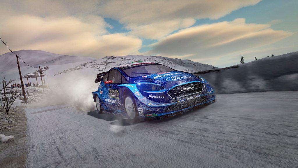 WRC 8 FIA World Rally Championship auto