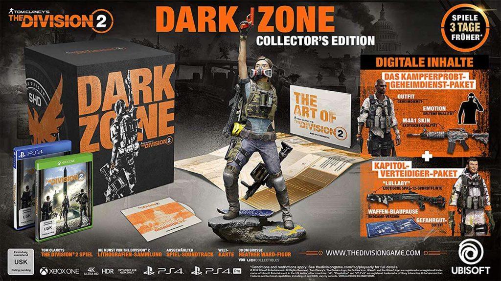 The Division 2 Dark Zone Collector's Edition