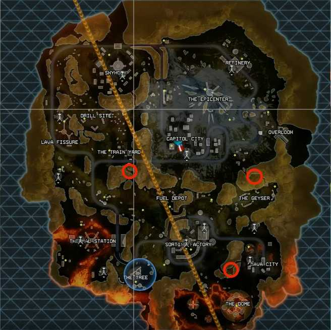 Apex Legends Loot Vaults Season 3 Location