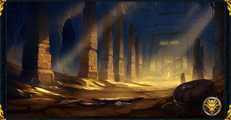 Eine Ausgrabungsstätte in RuneScape