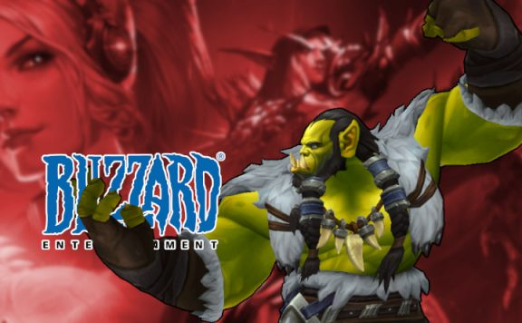 BlizzCon Thrall punching blizzard title 1140×445