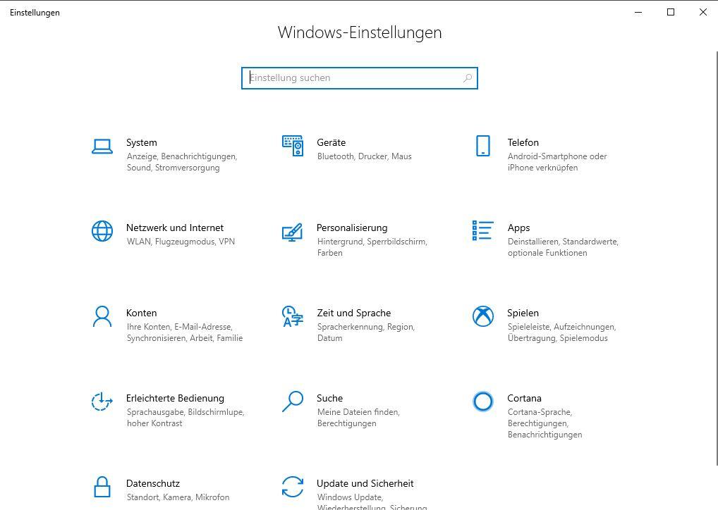 Bluetooth - Einstellungen Windows 10