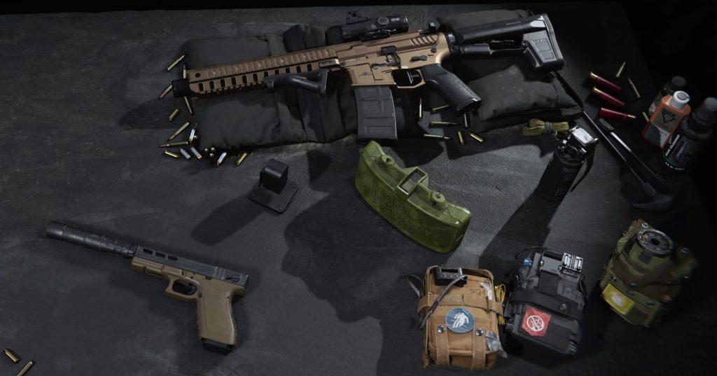 CoD Modern Warfare XRK M4