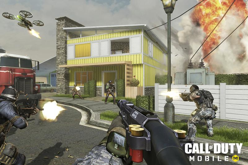 Call of Duty Mpbile Screenshot Explosion