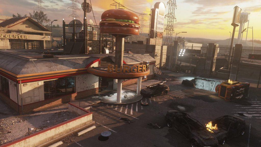 Call of Duty Modern Warfare Burger Town