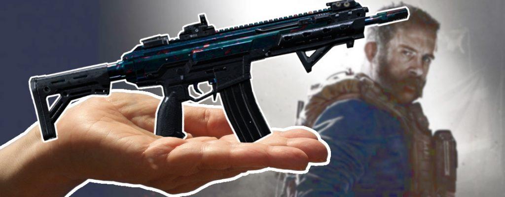 Call of Duty Modern Warfare Damascus Skin Titel