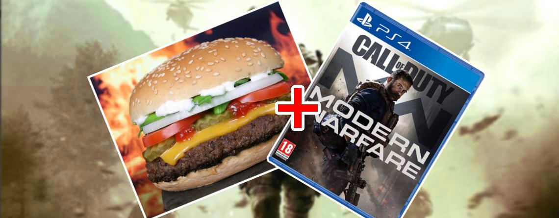 Burger King und Call of Duty deuten Partnerschaft an – Was bedeutet das für Euch?