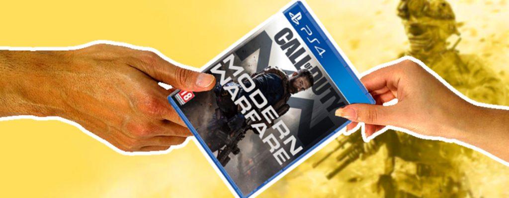 Call of Duty ModernW arfare Spiel wird übergeben Titel 5