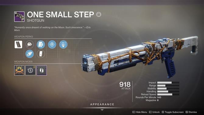 Destiny 2 Ein Kleiner Schritt