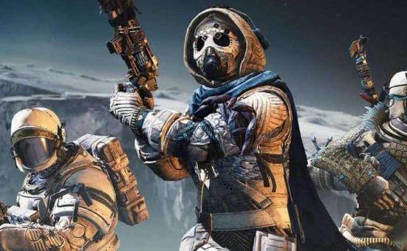 Destiny 2 drei Spieler im Garten der Erlösung Titel