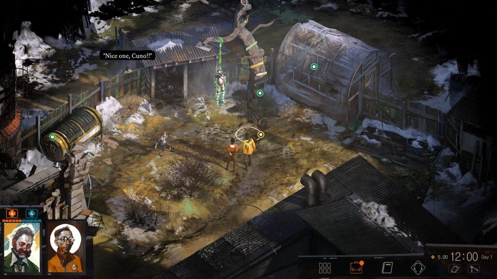 Disco Elysium Leiche Screenshot