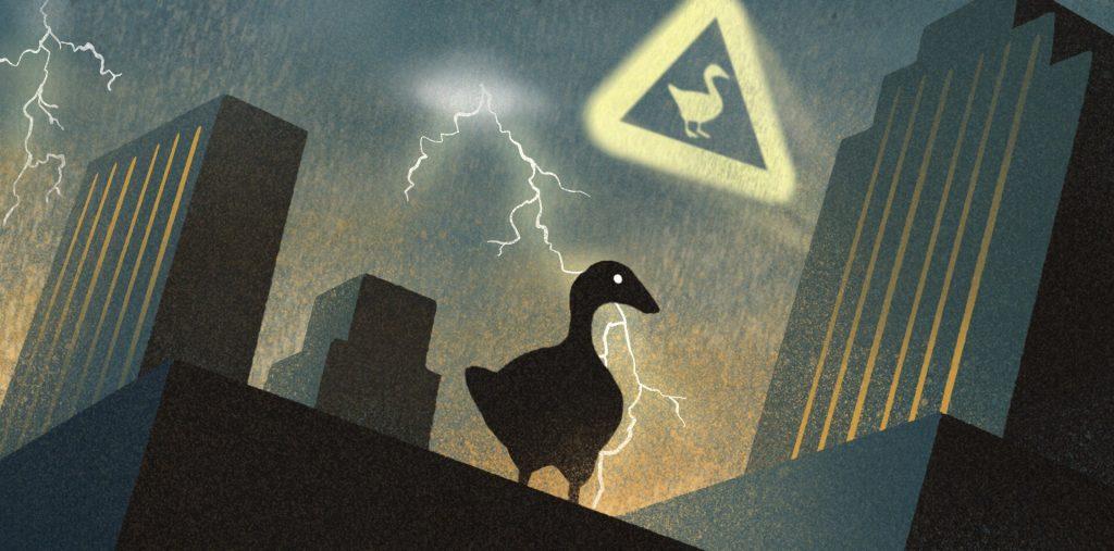 untitled bruce wayne goose