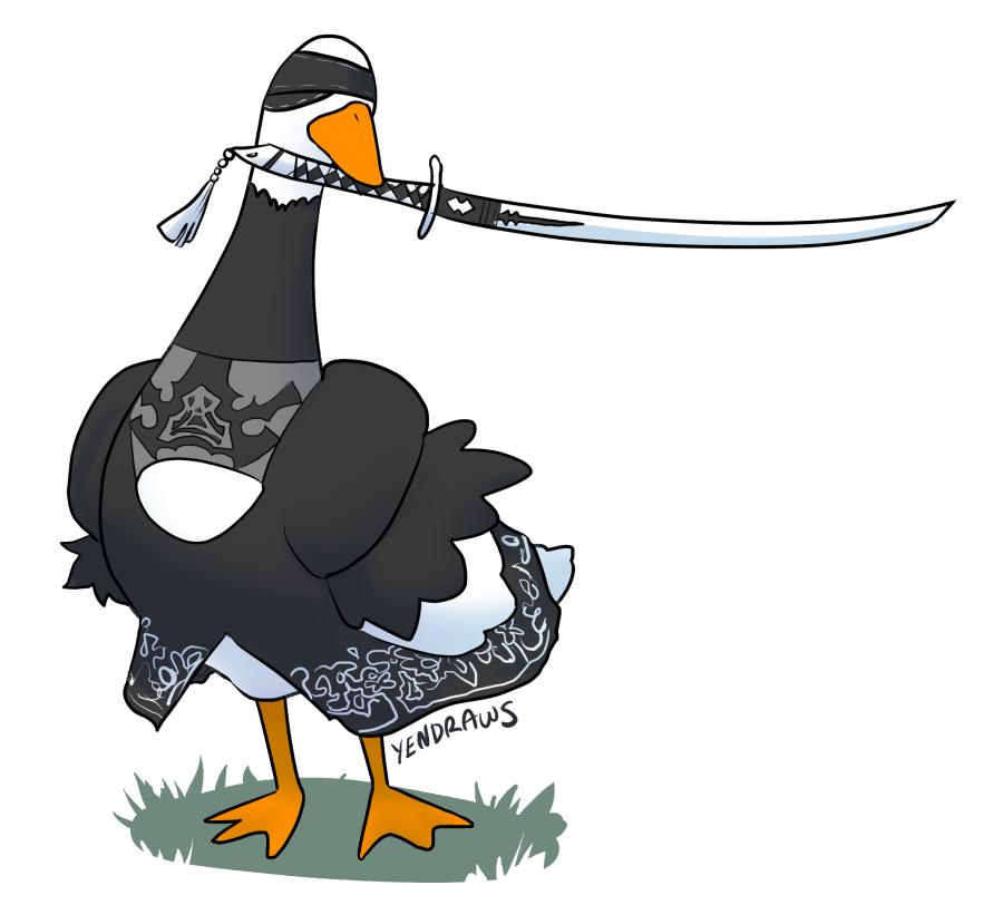 nier automata goose