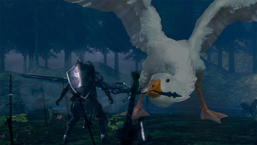 dark souls goose