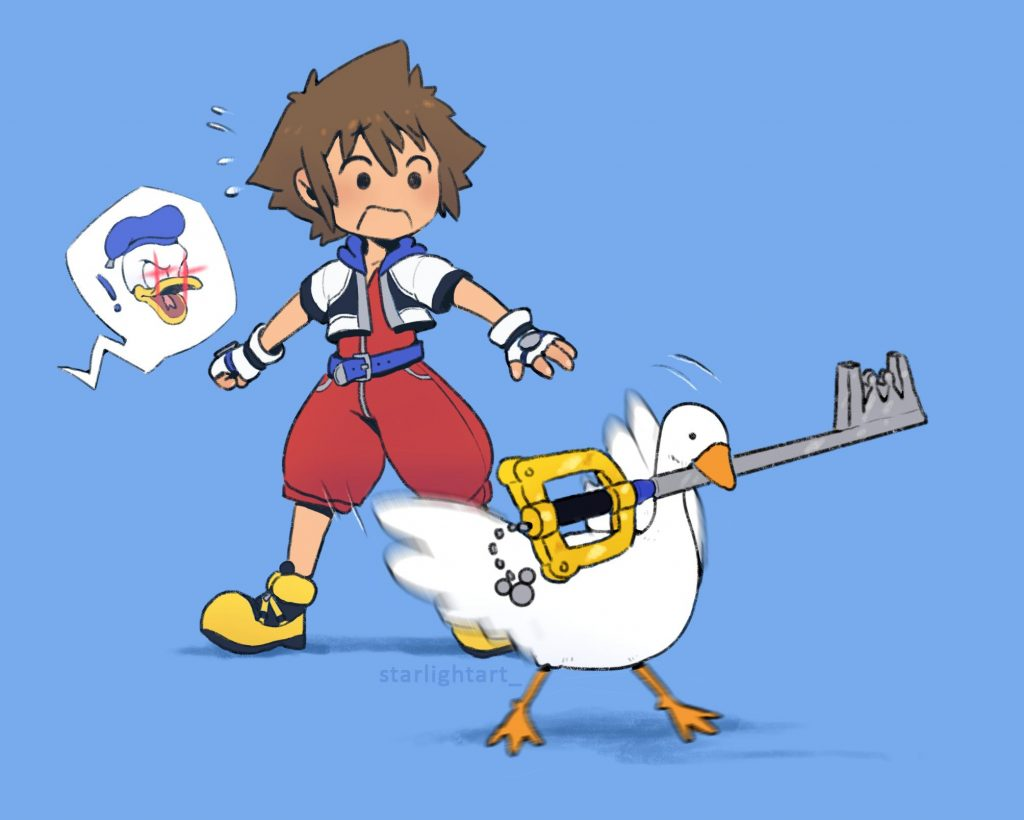 kingdom hearts goose