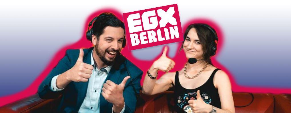 Leya Jankowski und Michi Obermeyer - EGX Berlin