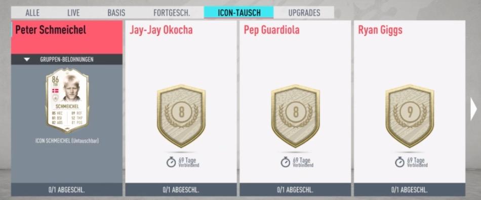 FIFA 20 Icon Swaps SBC