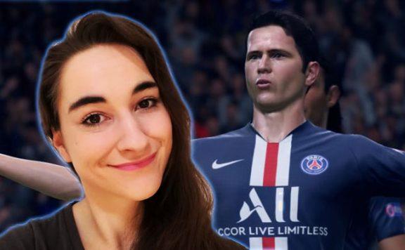 Schaut morgen live dabei zu, wie sich Leya in FIFA 20 blamiert