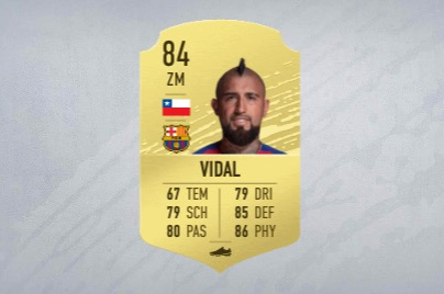 FIFA 20 Vidal