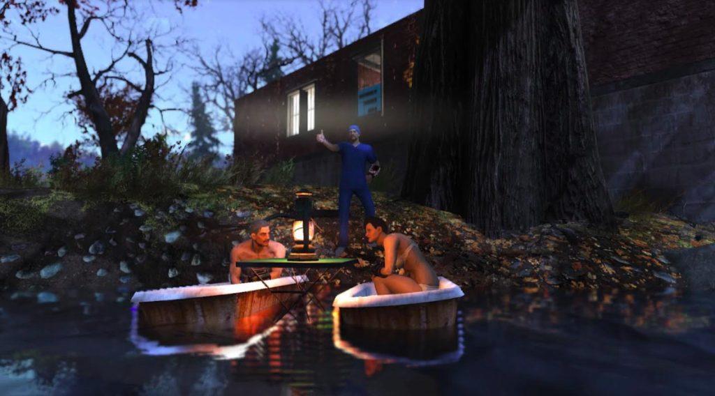 Fallout 76 Der Doc und Experimente