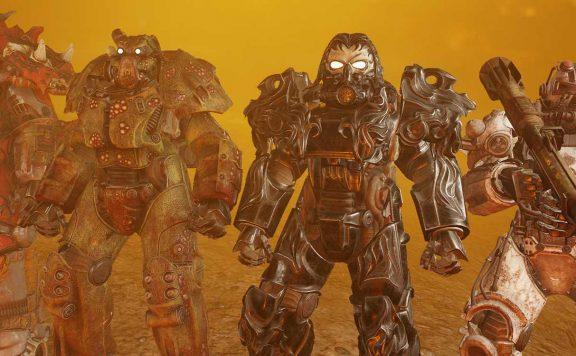 Fallout 76 VIer Reiter Powerrüstungen Titel