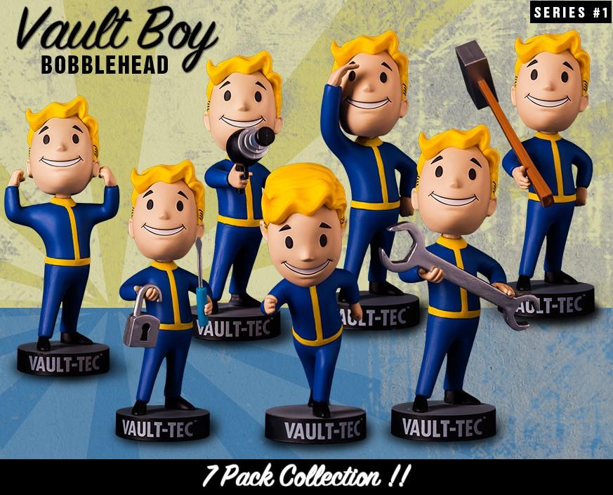 Fallout 76 Vault Boy Wackelkopf Puppen