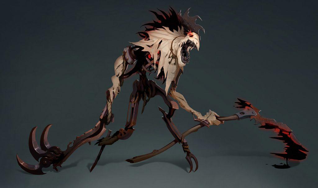 Konzept des neuen Fiddlesticks