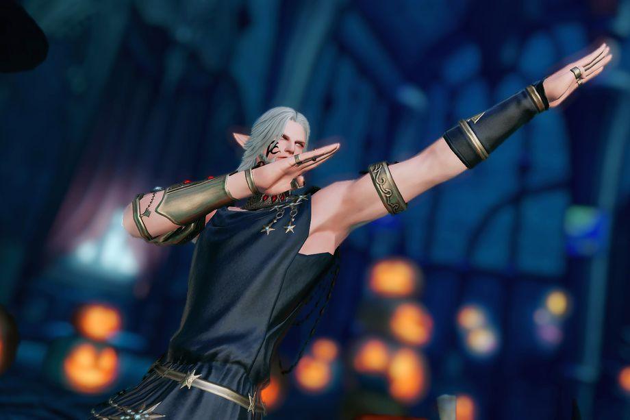 Final Fantasy XIV Dab Dance