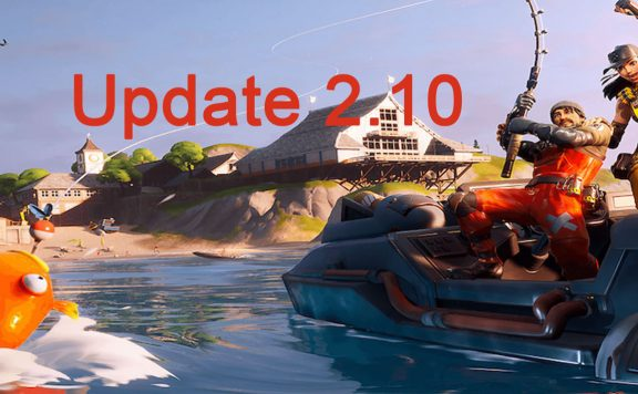 Fortnite Patch Notes 2.10 Titel