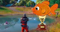 Fortnite: Goldener Fisch – So kommt ihr an den mythischen Fisch und das kann er