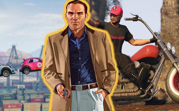 GTA Online DLCs Mashup Titel