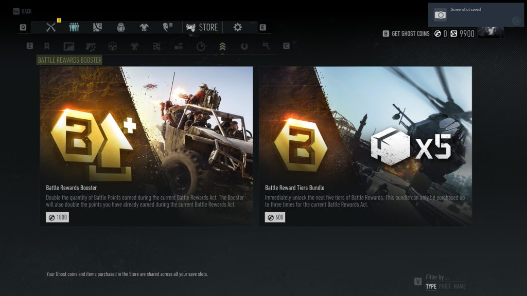 Ghost Recon Breakpoint Booster im Shop
