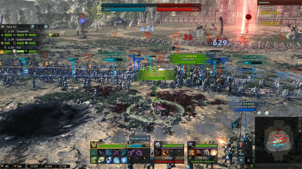Kingdom Under Fire 2 Schlacht