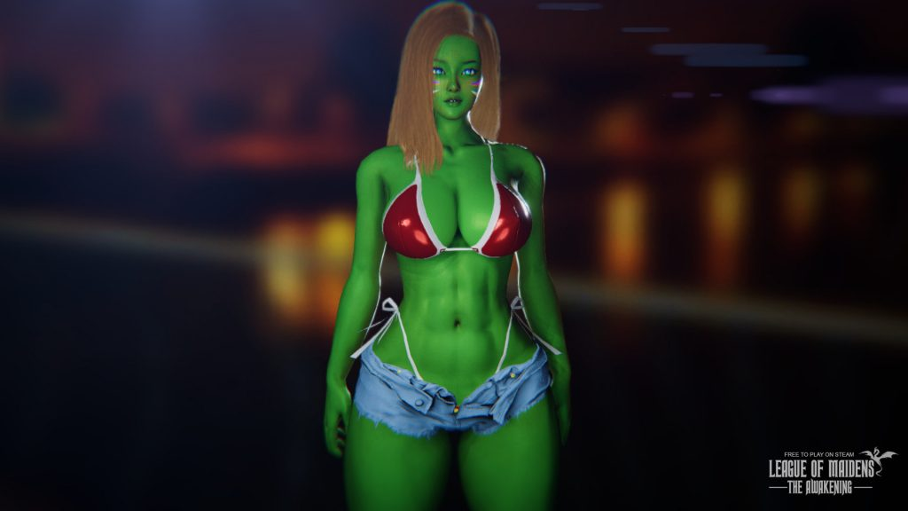 League of Maidens She Hulk Dva