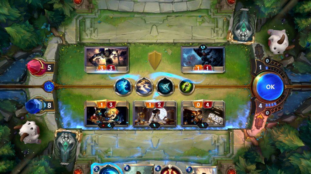 Legends of Runeterra Screenshot Duell