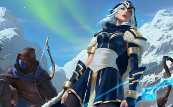 Legends of Runeterra Snow Mountain Woman title 1140×445