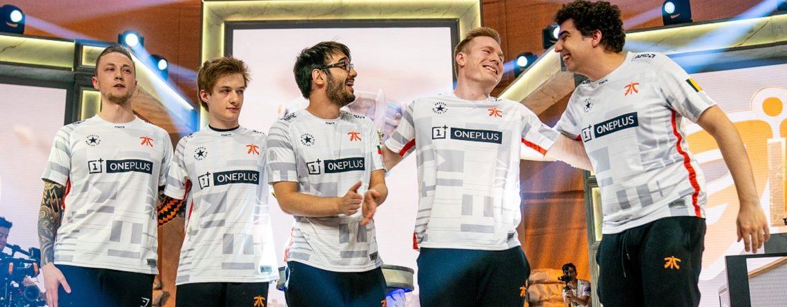 Fnatic entkommt spektakulär Todesgruppe C der LoL Worlds 2019