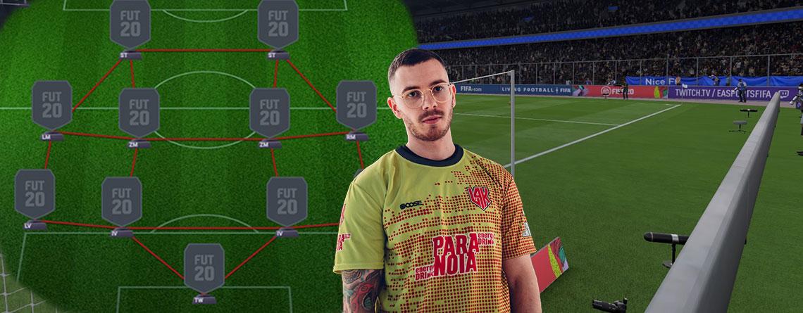 FIFA 20: Die 4 besten Formationen – Von einem Profi empfohlen