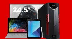 Gaming-PCs, Monitore und mehr vergünstigt bei MediaMarkt