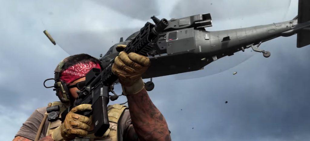Modern Warfare Spec Ops Schießen Hubschrauber