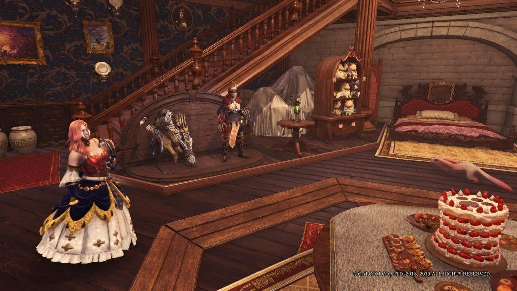 Monster Hunter World Iceborne dein Raum Inneneinrichtung, Set ausstellen