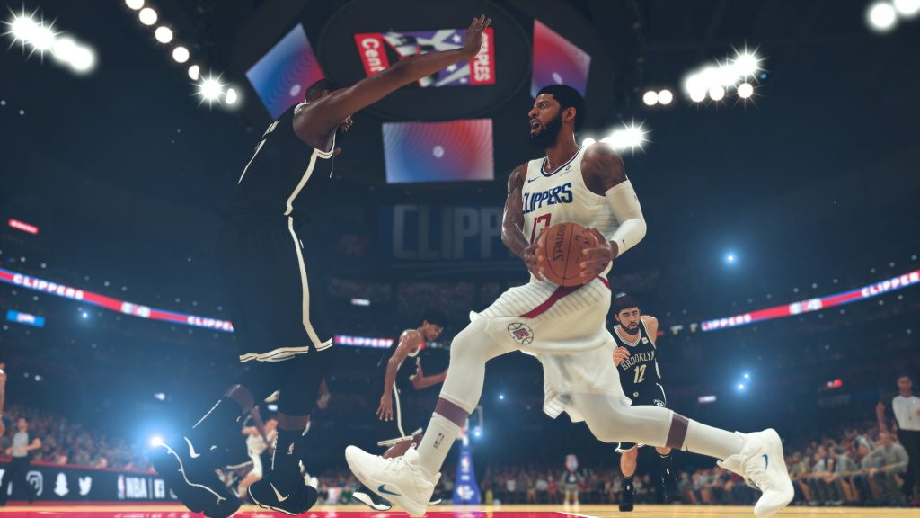 NBA 2k20 Screenshot Zweikampf
