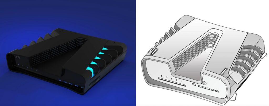 Idee zum Design der PS5 von ZONEofTECH